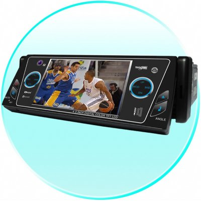 Car DVD Player - 4inch TFT LCD + Bluetooth - Touchscreen
