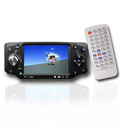 Touch Screen Car Multi-disk Player - Detachable Front Panel