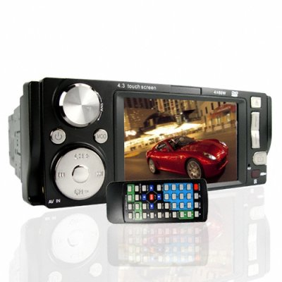 4.3 Inch Touchscreen Bluetooth Car DVD