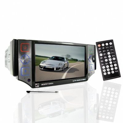 Dependable 5 Inch Car DVD with Ipod Control