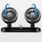 Car Fan 24 Volt Cooling 12V Double Head Fan 19 years upgraded 12V