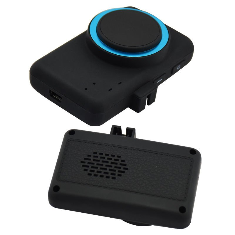 Car Fatigue Warning Alarm Device Head Up Driving Safe System Smart Anti Sleep Monitor Black