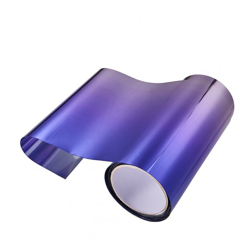 Car Front Windshield Protect Shade DIY Sticker Window Sun Visor Strip Tint Film  purple