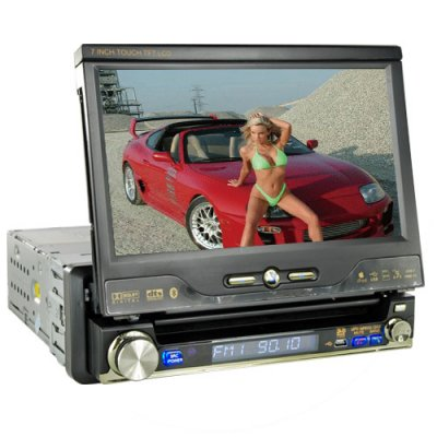 Car GPS + DVD + Bluetooth System