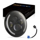 Car Headlamp 7inch 200W Round LED Headlights 6000K 20000LM headlight For Jeep Wrangler C0032
