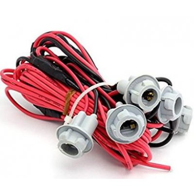 Car Headlights Accessory Wiring Harness