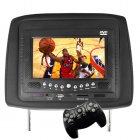 Car Headrest Entertainment System with DVD player  CD Player  MP3 and MP4 player  video games  and picture viewer