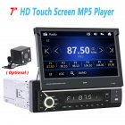 Car MP5 Player 7 Inch Bluetooth Touch Screen Car MP5 Player Car MP5 Player With Camera Support Multi-Languages With camera