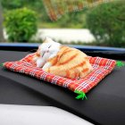 Car Ornaments Cute Sleeping Cats
