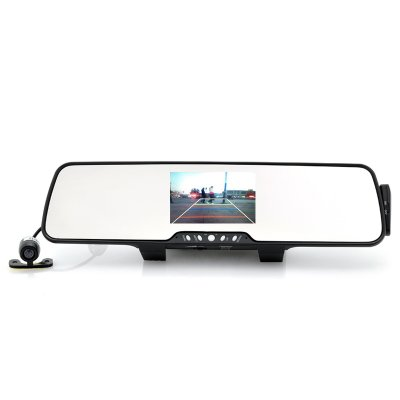 Rear-View Car Mirror with Parking Camera