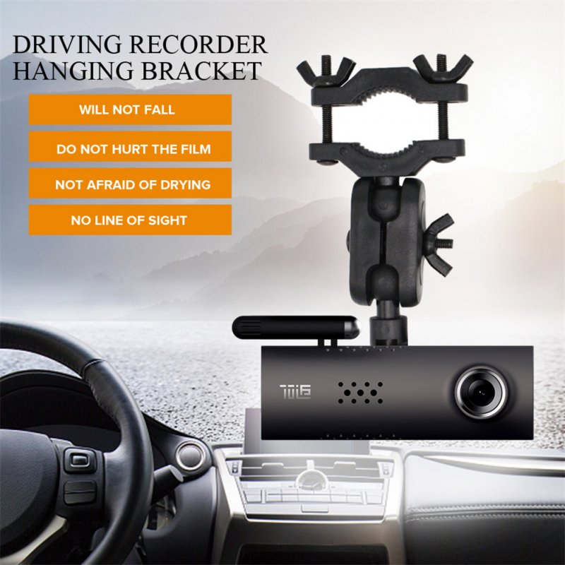 Car Rearview Mirror Driving Recorder Bracket Holder for Xiaomi DVR 70 Minutes Wifi Cam Mount 360 Degree Rotating Support Holder