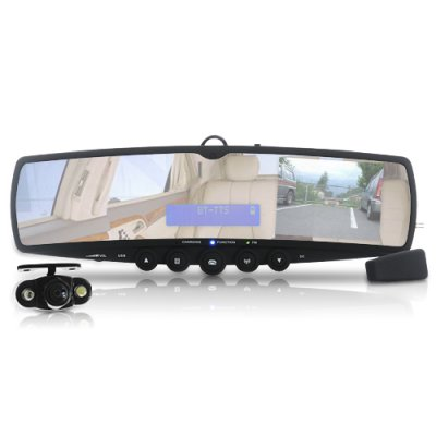 Rearview Car Mirror with Wireless Camera