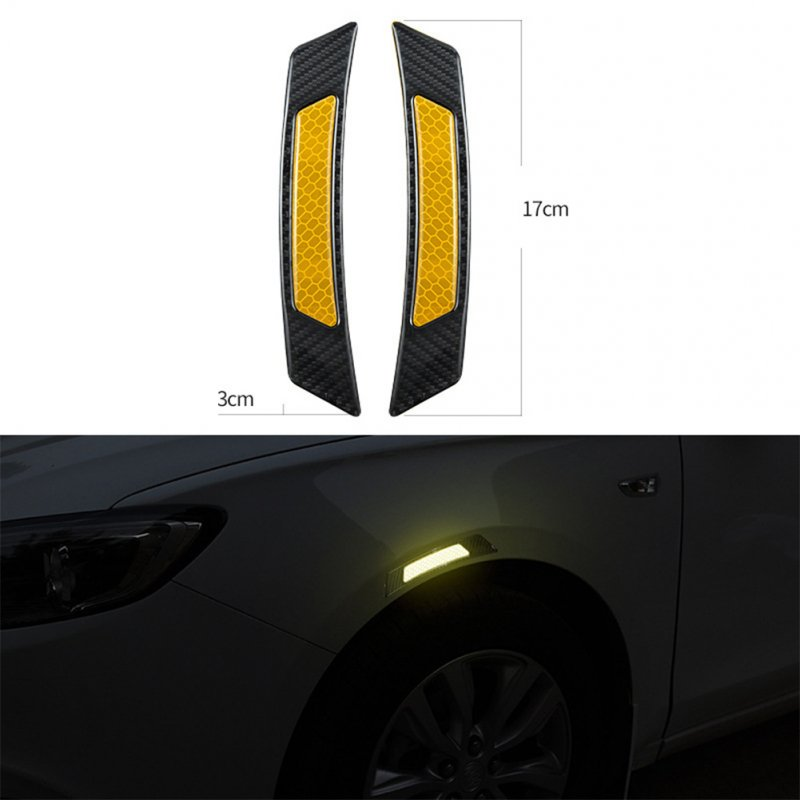Car Reflective Strip Wheel Frame Stickers