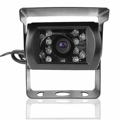 Wired 1/3 Inch Color CCD Camera -NTSC