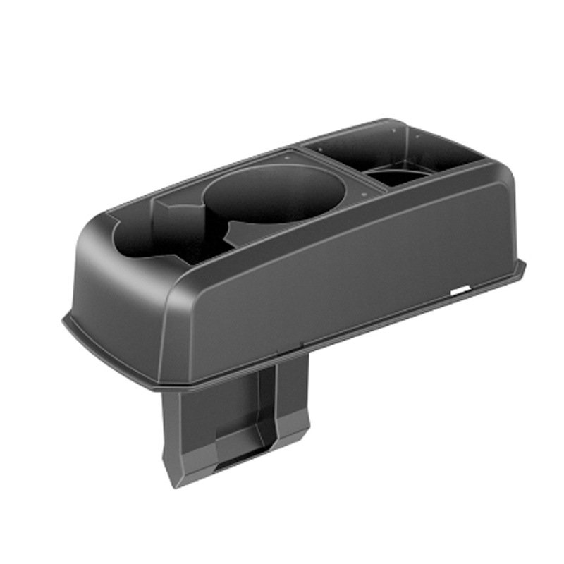 Car Seat Crack Cup Drink Car Phone Holder Armrest Storage Box Organizer black