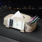 Multi-function Car Tissue Box