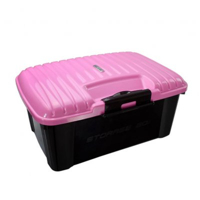 Car Trunk Organizer Box Storage Bag Auto Trash Tool Bag Large Cargo Storage Stowing Tidying Car Accessories Pink_51*38*24cm