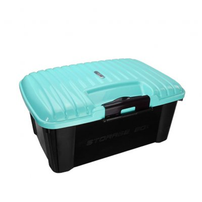 Car Trunk Organizer Box Storage Bag Auto Trash Tool Bag Large Cargo Storage Stowing Tidying Car Accessories Blue_51*38*24cm