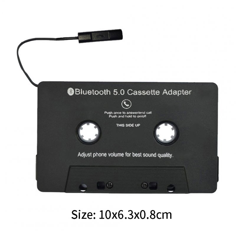 Car Universal Bluetooth Converter Car Tape MP3 Stereo Bluetooth Audio Cassette Adapter black