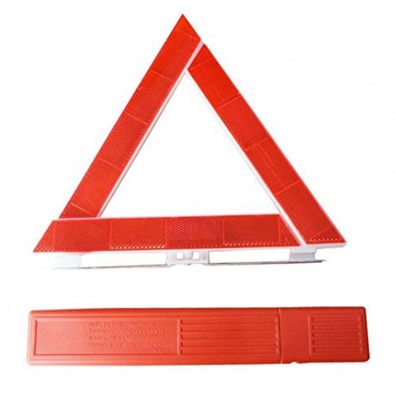 Car Vehicle Emergency Breakdown Warning Reflective Triangle Road Safety Sign 300