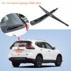 Car Wiper Back Wiper Arm for Nissan Qashqai 2008-2019 Rear wiper and rear wiper arm combination