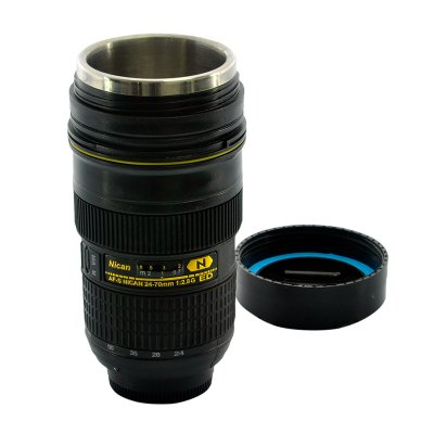 Car Cup Warmer Disguised As Camera Lens