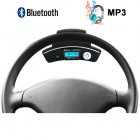 Car steering wheel Bluetooth adapter   wireless earpiece   The safest and easiest way to keep your eyes on the road and hands on the steering wheel while you ta