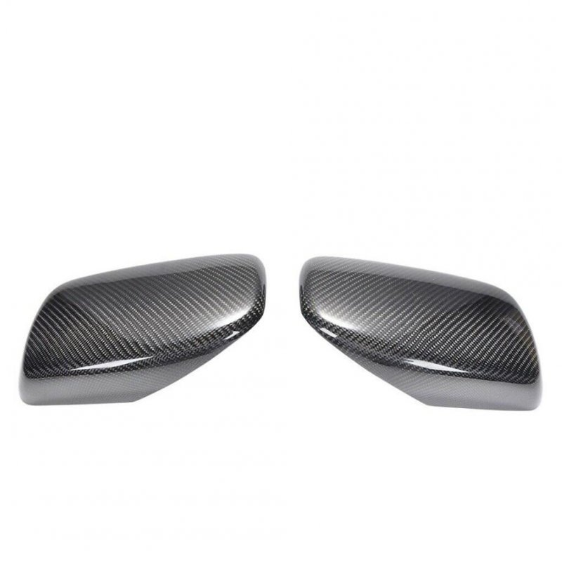 Carbon Fiber Reversing Mirror Housing Rearview Mirror Housings For 5 Series 2004-2008 51167078359 51167078360 Carbon pattern