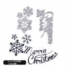 Carbon Steel Cutting Dies for DIY Christmas Series Scrapbooking Album Paper Cards Die Cuts 1804142