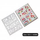 Carbon Steel Cutting Dies for DIY Christmas Series Scrapbooking Album Paper Cards Die Cuts 1805383