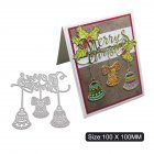 Carbon Steel Cutting Dies for DIY Christmas Series Scrapbooking Album Paper Cards Die Cuts 1805308
