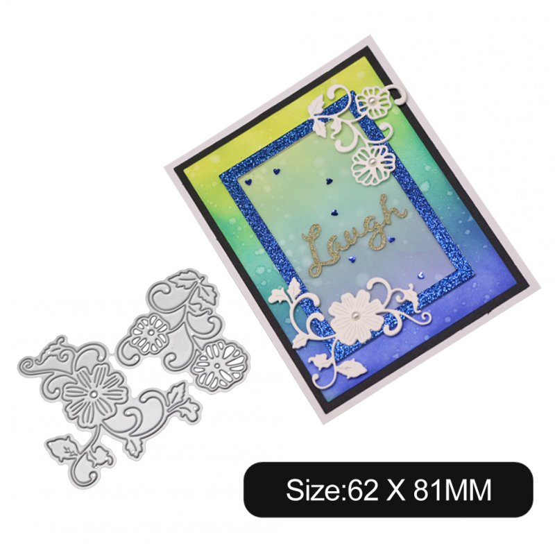 Carbon Steel Cutting Dies for DIY Scrapbooking Album Paper Cards Decorative Crafts Envelope Lace / Invitation Lace 1805564