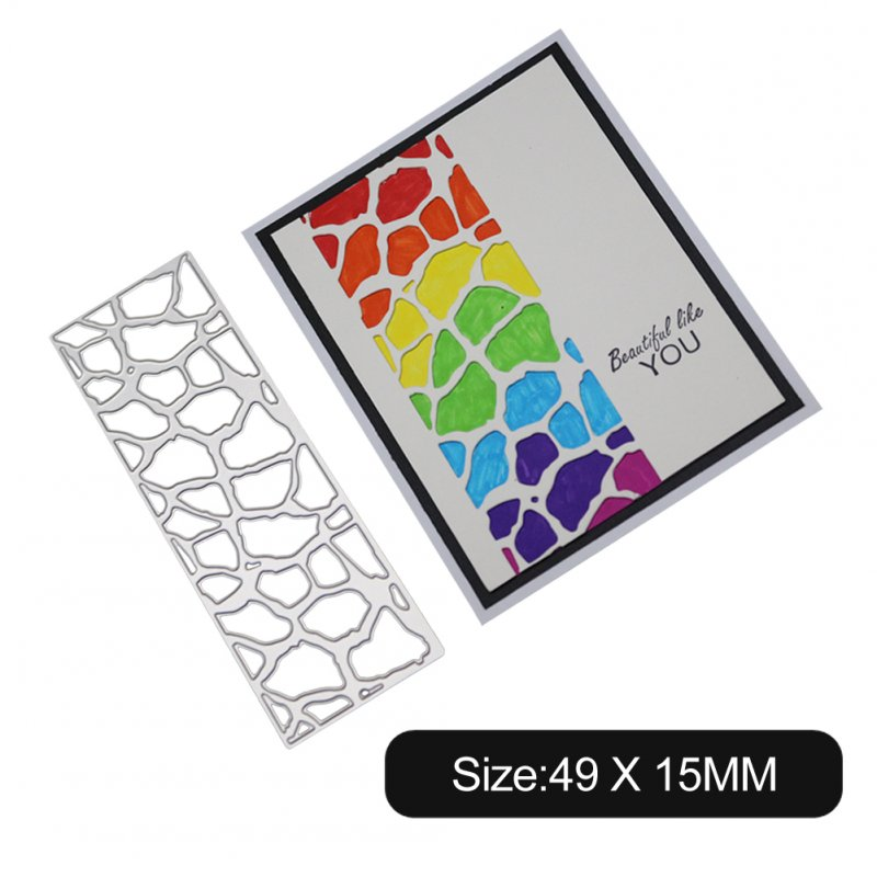 Carbon Steel Cutting Dies for DIY Scrapbooking Album Paper Cards Decorative Crafts Envelope Lace / Invitation Lace 1805559