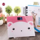 Cartoon Backlit Light Vision Household Cartoon Pattern Weighing Scale 21   25cm
