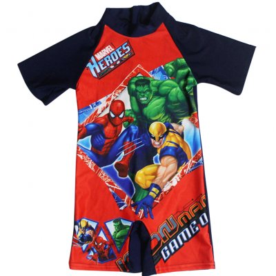 Cartoon Boy Kids Swimsuit Muslimah Swimwear