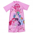 Cartoon Girl Kids Swimsuit