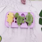 Cartoon Ice Cream Mold Diy Silicone Ice Maker Mould Kitchen Accessories random_dinosaur