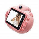 Cartoon Portable HD Mini Digital Camera for Children Pink
