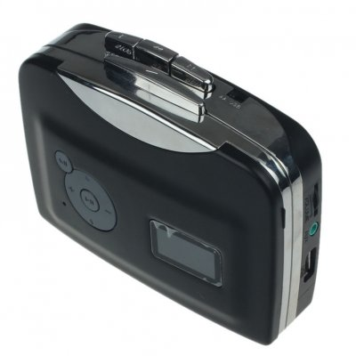 Tape to Audio MP3 Cassette Player - Black