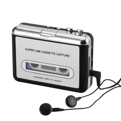 Cassette Tape-to-MP3 Converter