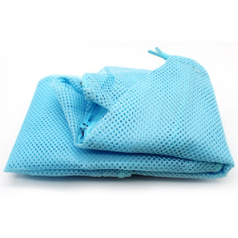 Cat Grooming Bag Mesh Pet No Scratching Biting Restraint Bath Bags For Bathing Nail Trimming Injecting Examing Blue