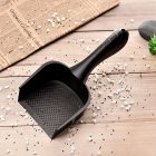 Cat Litter Shovel Pet Cleaning Tool Scoop Sift Cat Sand Cleaning Scoops for Cat Toilet Training black 28 8   10   3CM