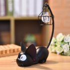 Cat Toy Night Light for Child Led Lamp Home Decoration Resin Kids Cartoon Room Lamp Wire shade