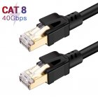 Cat8 Ethernet Connection Line Jumper Indoor Computer Router Pure Copper Cable Optical Fiber Broadband Connection Line 3 meters