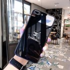 Chanel Icon Phone Case for iPhone6 6S  6 6S PLUS  7 8  7 8plus  X XS  XR  XS MAX Stylish Chic Mirror Full Protection Anti falling black