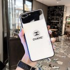 Chanel Icon Phone Case for iPhone6 6S  6 6S PLUS  7 8  7 8plus  X XS  XR  XS MAX Stylish Chic Mirror Full Protection Anti falling white