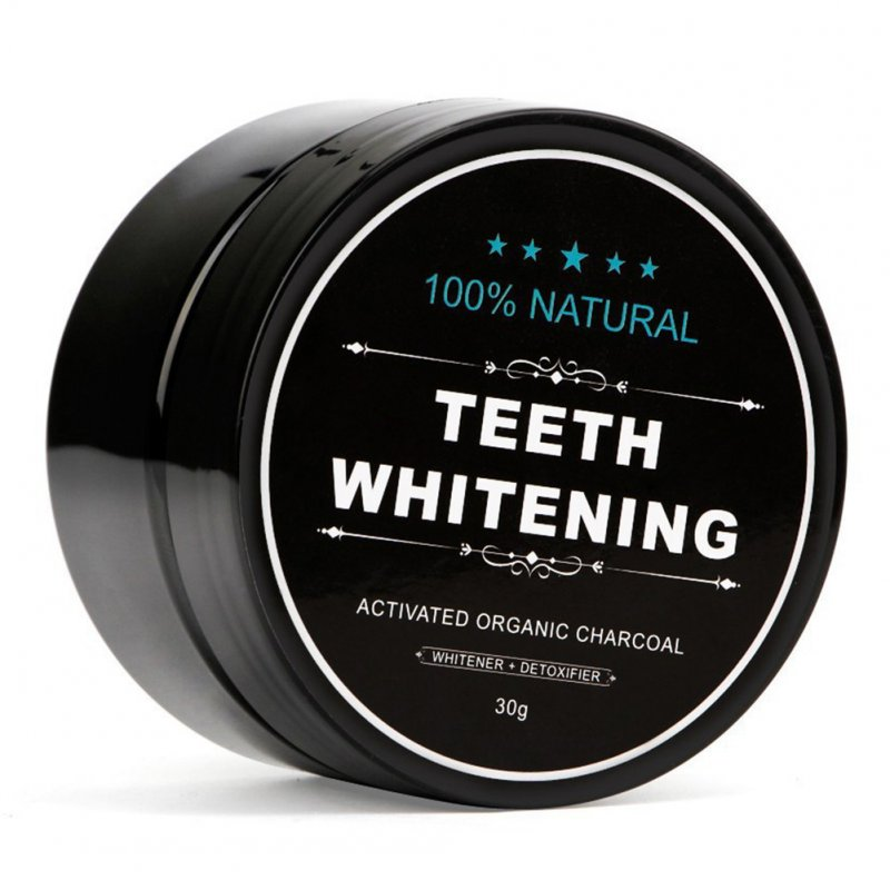 Charcoal Teeth Whitening Powder Activated Coconut Charcoal Teeth Whitening Charcoal Powder Oral Hygiene 30g