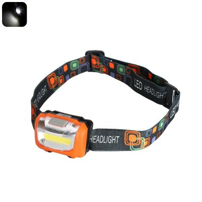 COB LED Headlight (Orange)