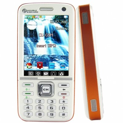 Touchscreen Media Cell Phone