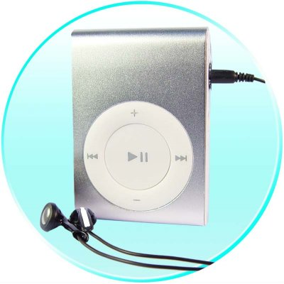 Clip MP3 Player 512MB